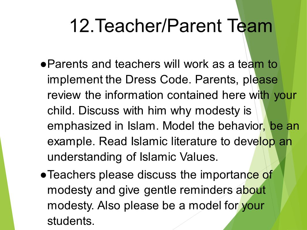 Dress code for the teacher: what does the teacher of your child look like