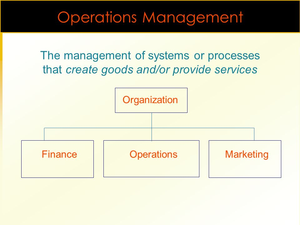 1-1Introduction to Operations Management William J  Stevenson