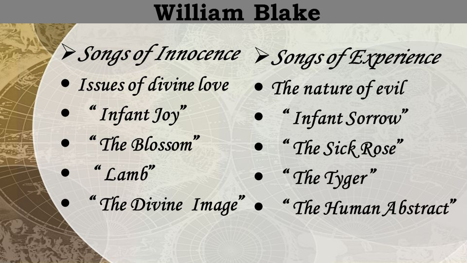 the blossom william blake