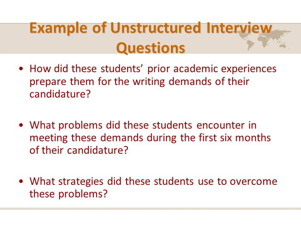 Quiz & worksheet unstructured interviews: pros & cons   study. Com.