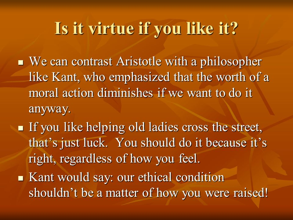 nicomachean ethics ruminations on virtue The nicomachean ethics (/ˌnɪkoʊˈmækiən/ ancient greek: ἠθικὰ νικομάχεια) is the name normally given to aristotle's best-known work on ethics.