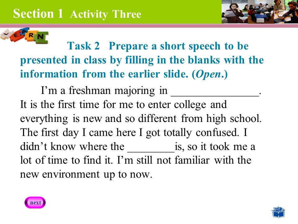 short speech on environment