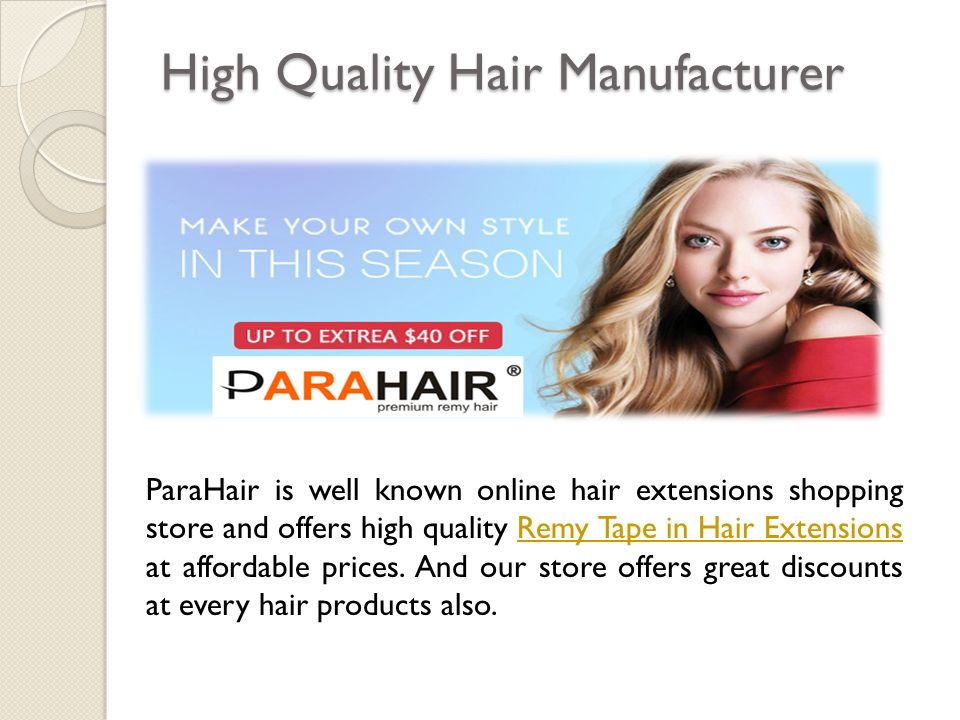 Introduction Parahair Parahair Is An Online Hair Extensions