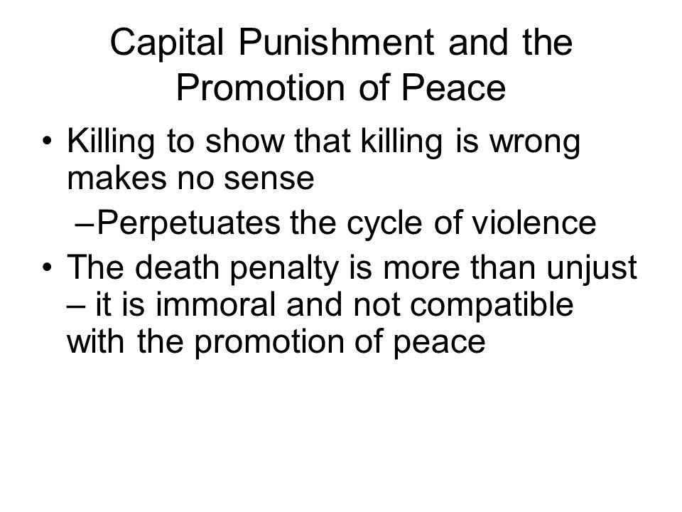 capital punishment and why does the church christianity oppose it so much essay Capital punishment does not work there is a wealth of mounting evidence that proves this fact the death penalty, both in the us and around the world, is discriminatory and is used disproportionately against the poor, minorities and members of racial, ethnic and religious communities since.
