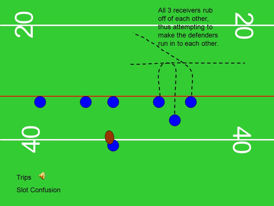 slide_4 offensive plays & formations regular set hook & ladder center can