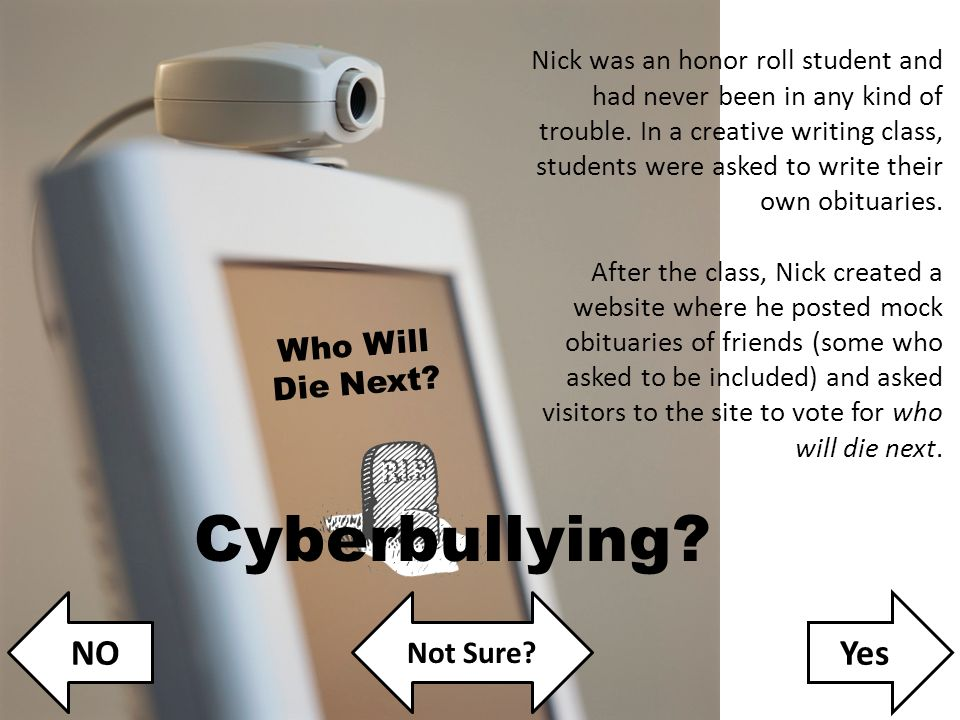NOYes Not Sure? A Digital Citizenship Lesson Plan for Middle