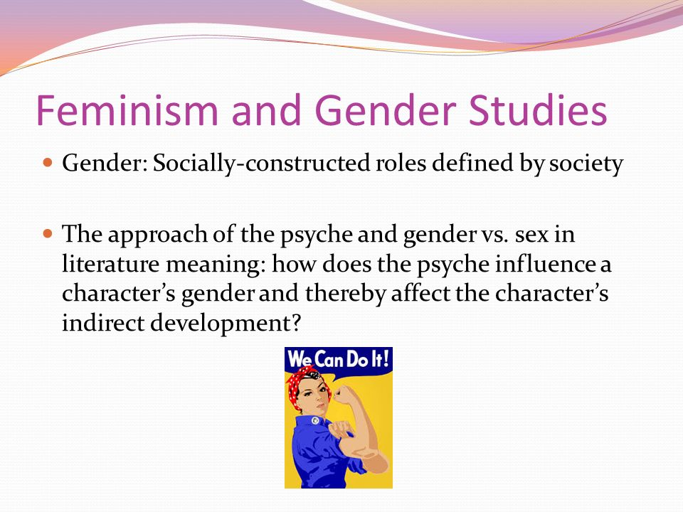 gender studies definition