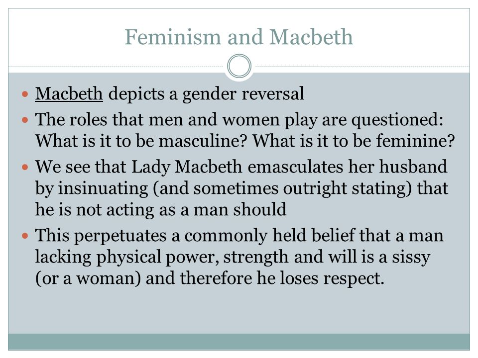 macbeth scholarly articles
