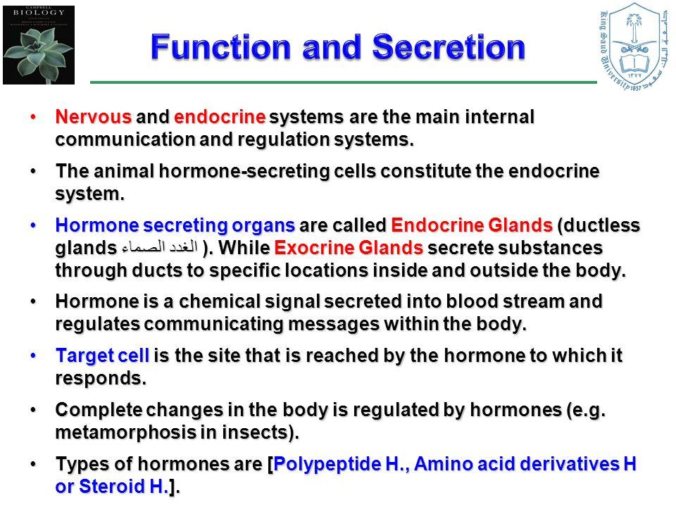 the endocrine glands secrete substances called