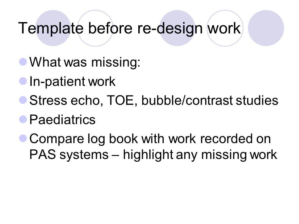 stress echo template