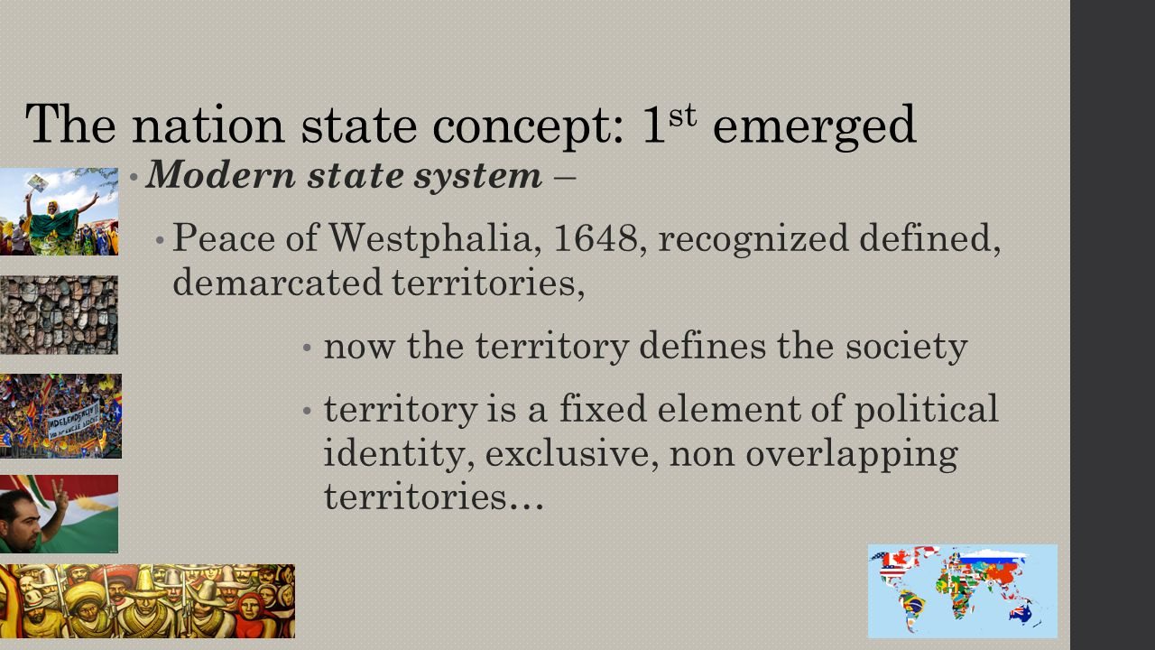 political geography evolution of the contemporary political pattern
