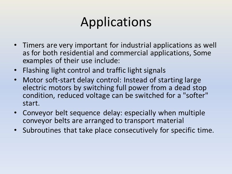 PLC APPLICATIONS MODULE 3 Time sequence processes  - ppt