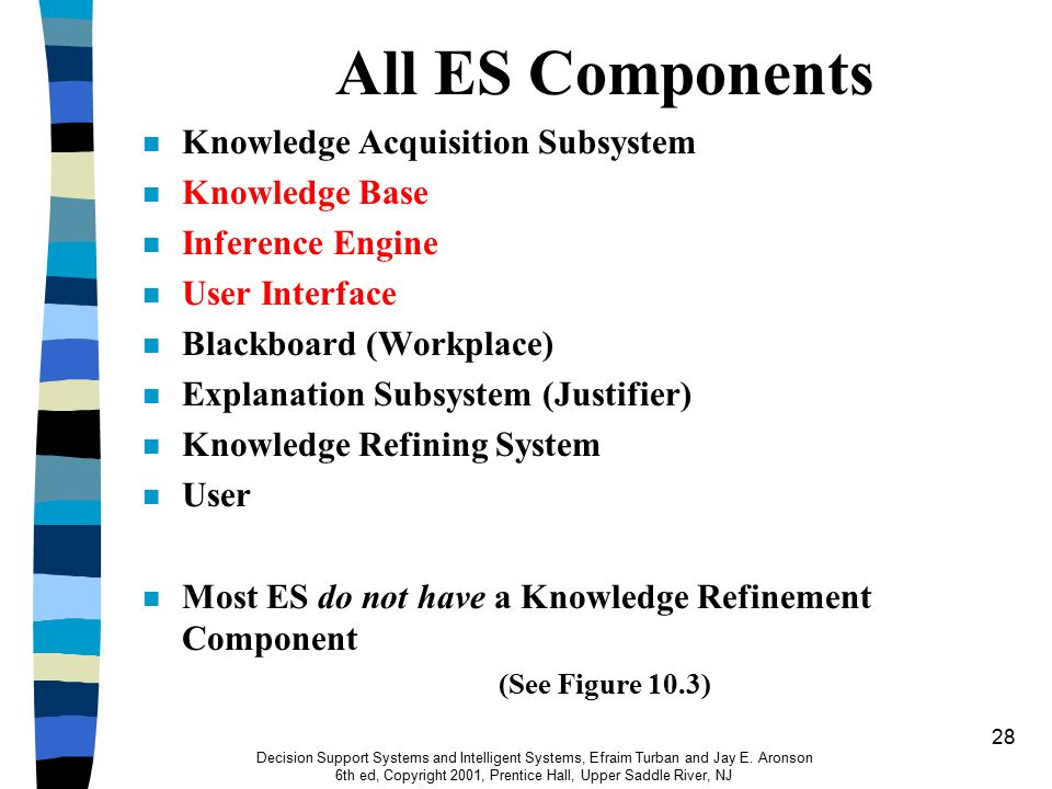1 CHAPTER 10 Knowledge-Based Decision Support: Artificial