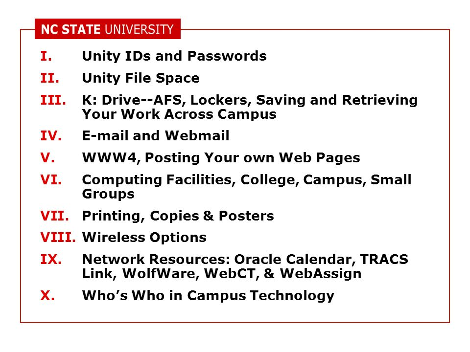 Ncsu Academic Calendar.Technology At Cals And N C State Kevin Oliver Instructional