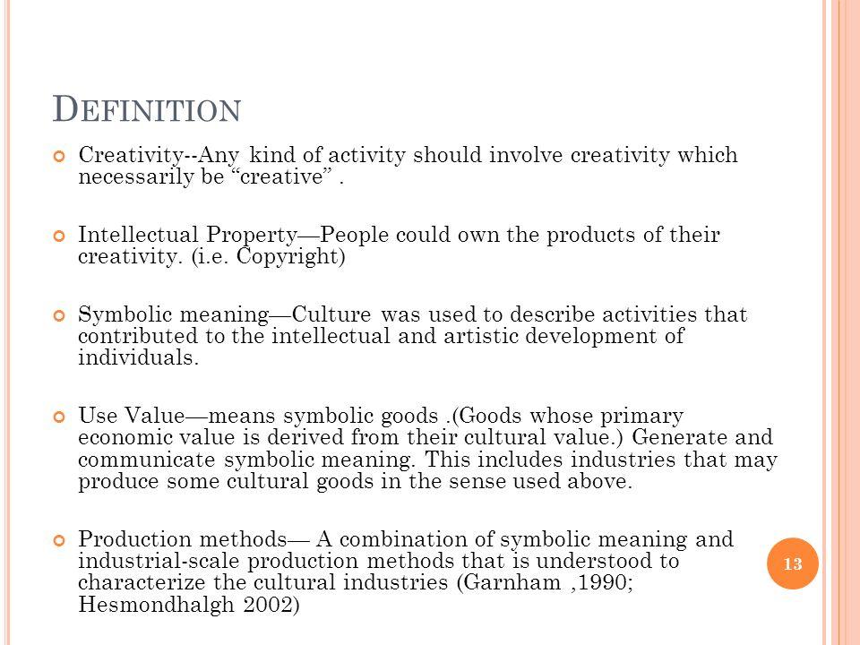 cultural goods definition