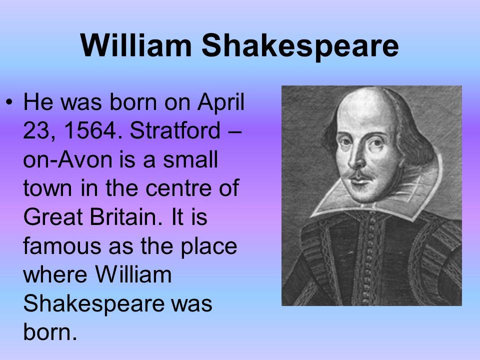 william shakespeare childhood