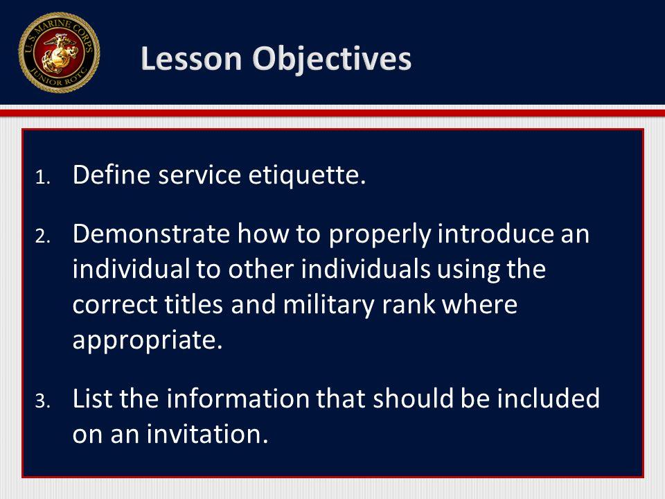 benefits of etiquette
