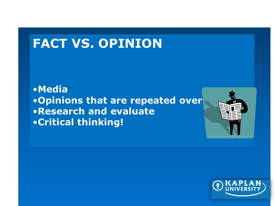 research vs opinion paper A research paper is a primary sourcethat is, it reports the methods and results of an original study performed by the authors the kind of study may vary (it could have been an experiment.
