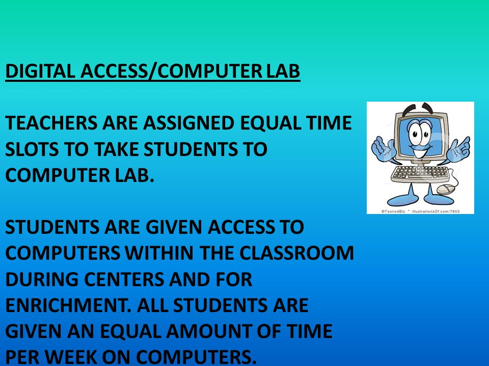 Image result for how to ensure all students get equal time on computer in the classroom