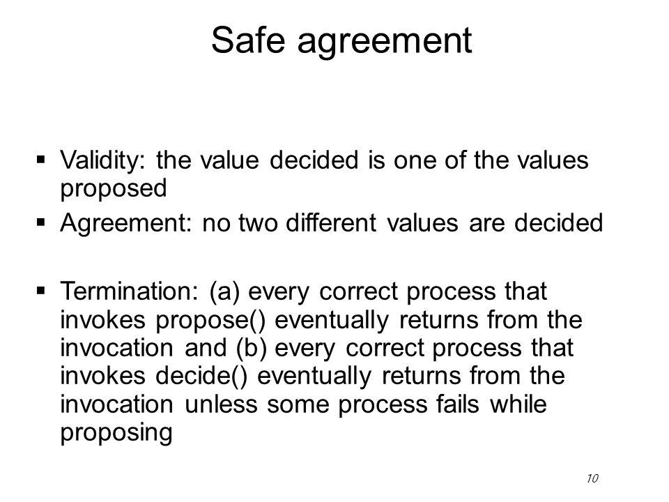 1 R Guerraoui Set Agreement Generalizing Consensus R Guerraoui