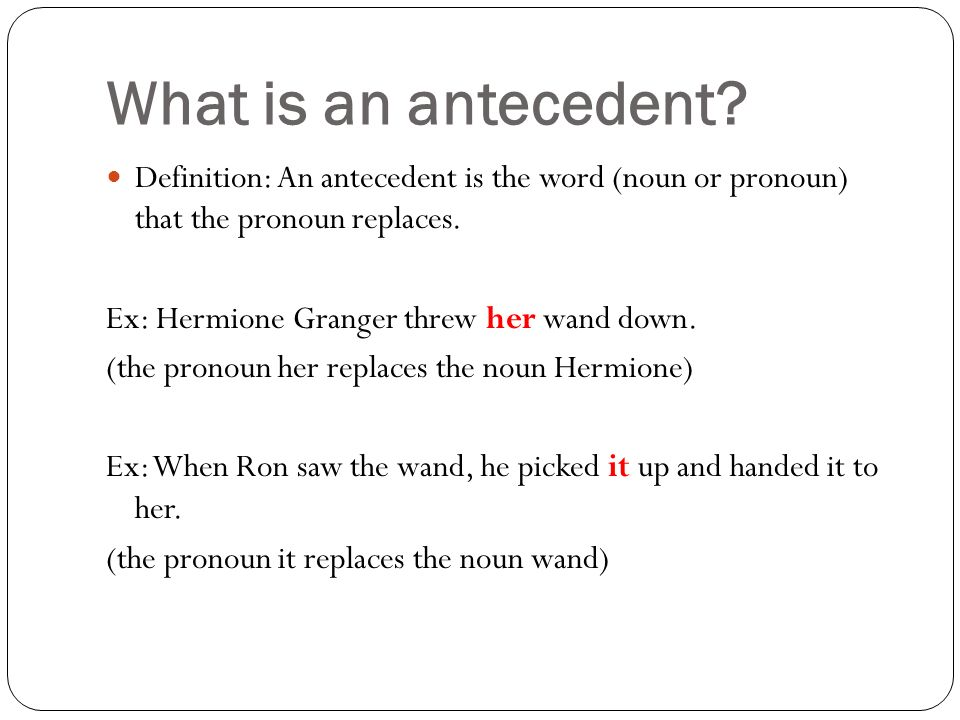 pronoun antecedent agreement these questions should be answered at