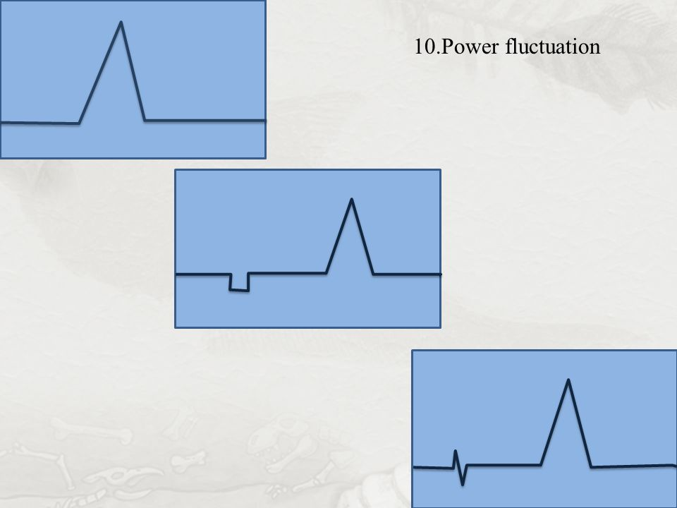 10.Power fluctuation