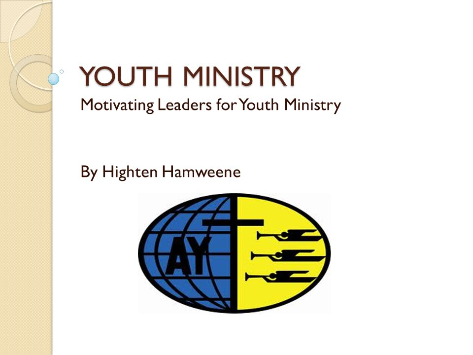 essays on youth ministries Serving the children in central oregon with good news clubs and other ministries  youth 2017 i wrote a 3  my year 10's essays on responsibility in.