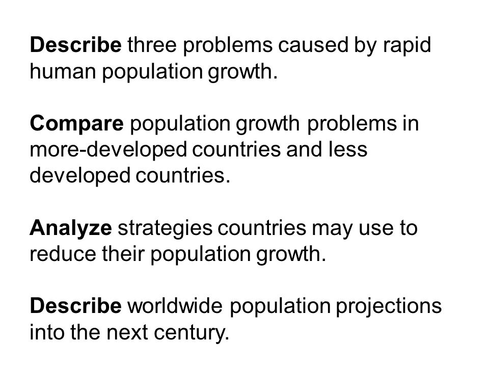 an analysis of the rapid growth of population Size and growth of india's population:  india comes second to china as regards the size of its population it occupies 24% of world's area and with 15% of world's income india is maintaining 16% of world's population.