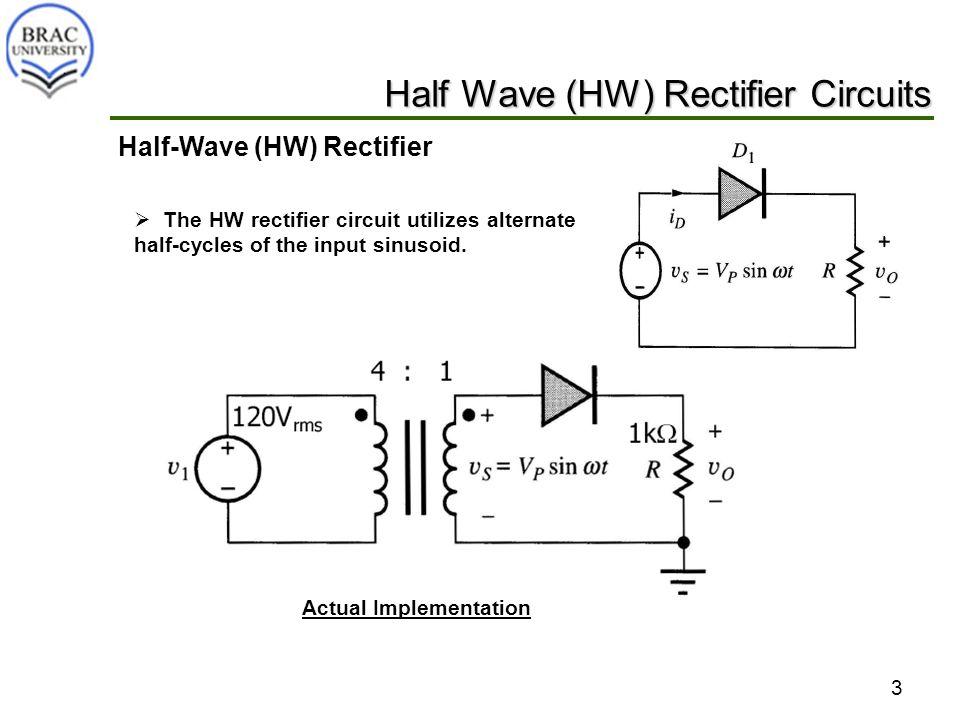 Cse251 Diode Applications Rectifier Circuits 2 Block Diagram Of A