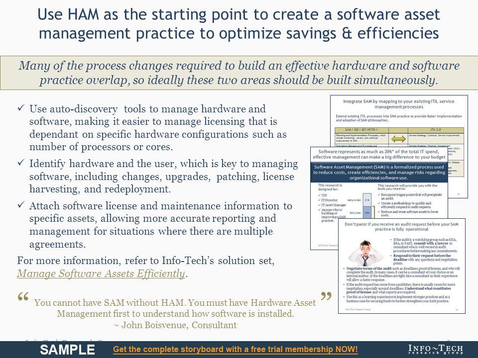 Develop a Comprehensive Hardware Asset Management Strategy  - ppt
