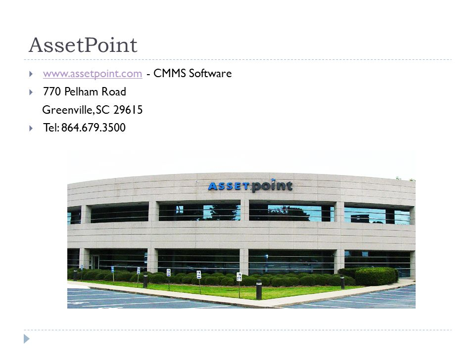 CMMS Software CMMS Software - ppt download