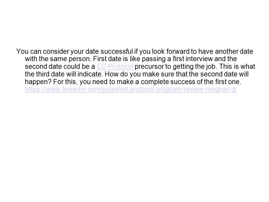 second date protocol