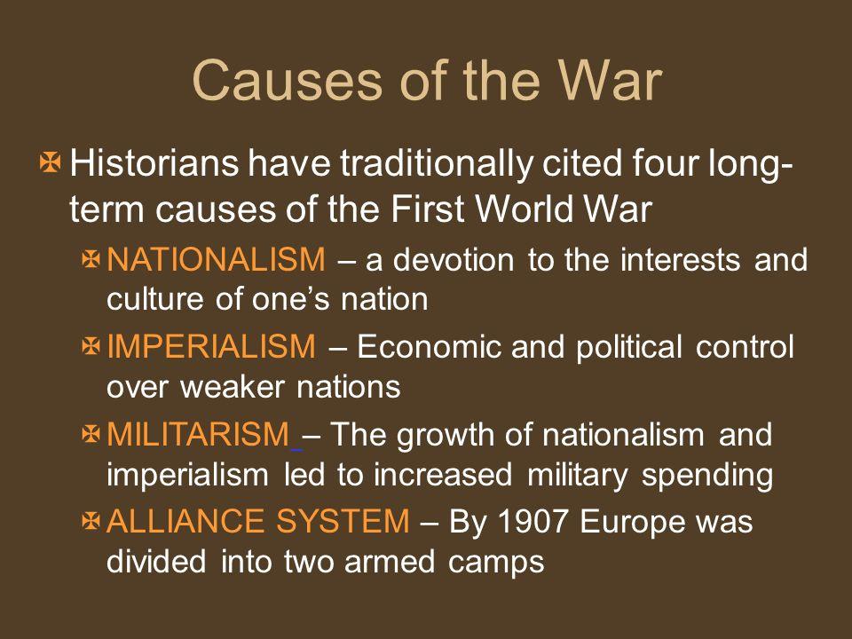 four long term causes of ww1