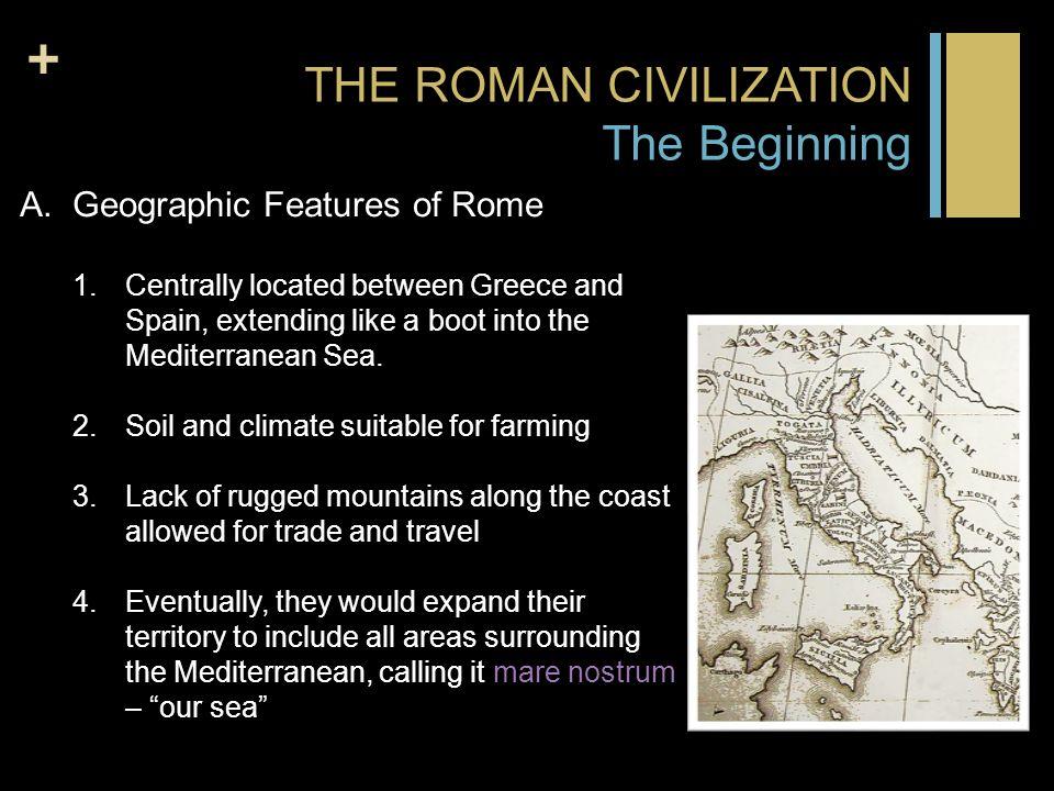 The Roman World (History of Civilization)