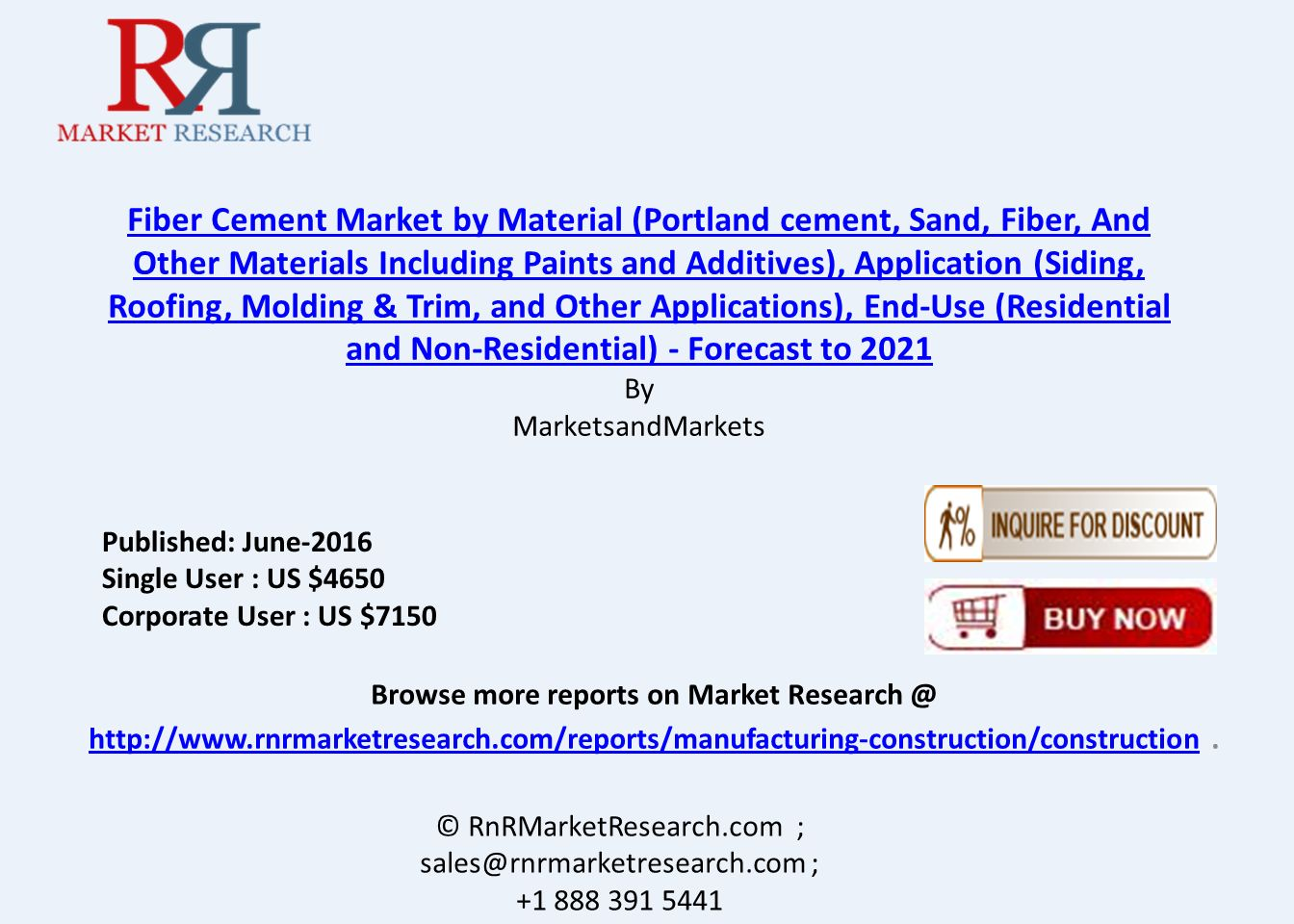 Us Cement Industry Analysis Market Report