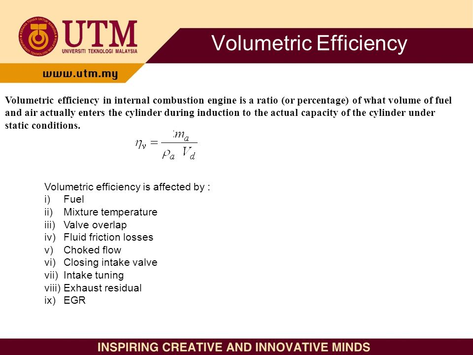 Intake System: Air Induction and Volumetric Efficiency