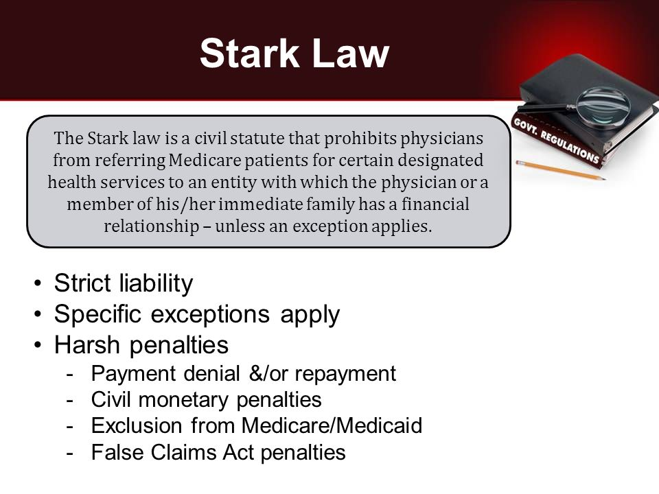 Stark Reality: Anatomy of a Physician Contract Audit. - ppt download
