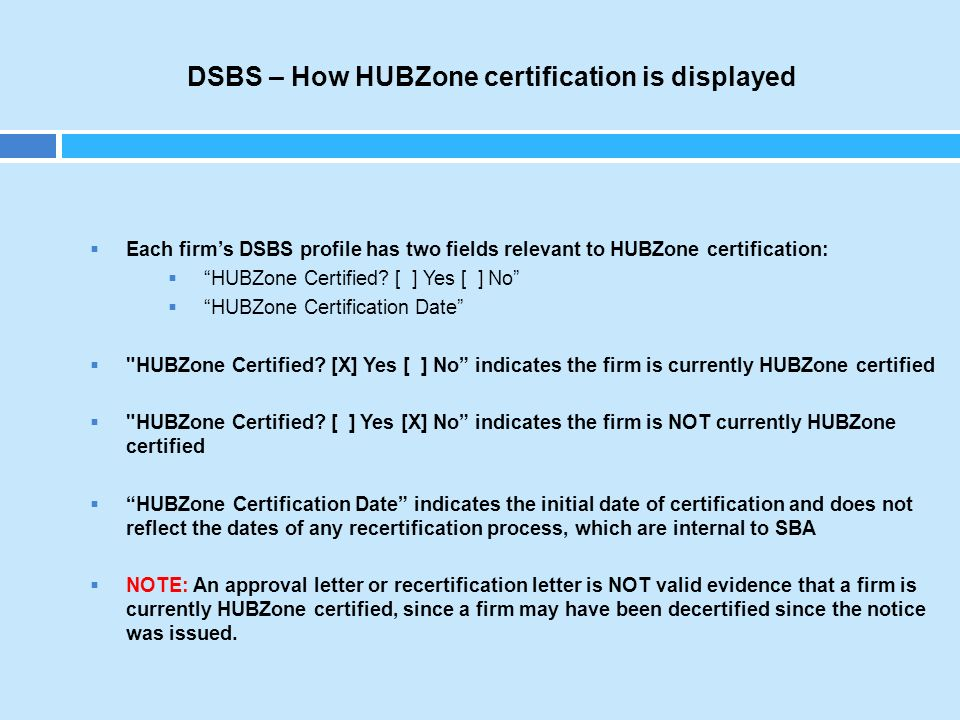 "Contracting with HUBZone Certified Small Businesses"" - ppt download"