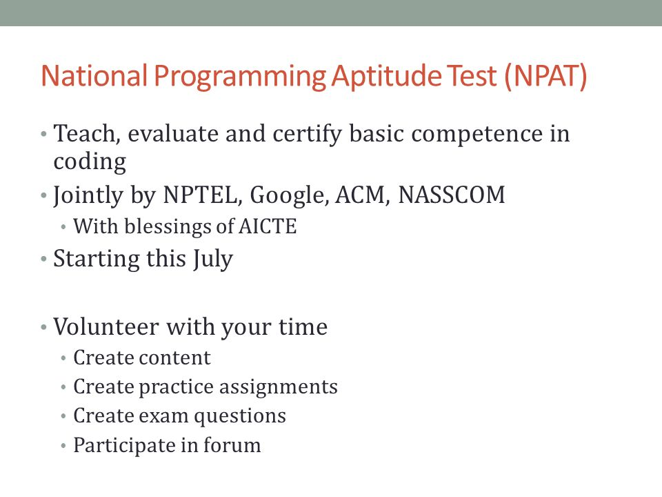 NPTEL AND GOOGLE: MOOCS AND CERTIFICATION IN INDIA Under