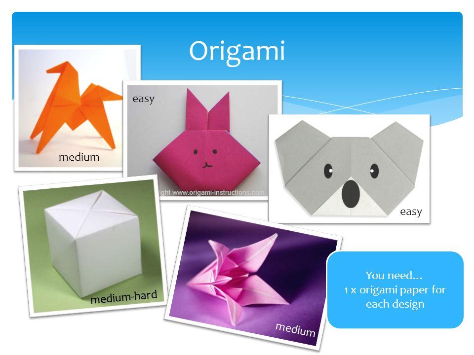 Kirigami Origami Material A Piece Of Square Scrap Paper
