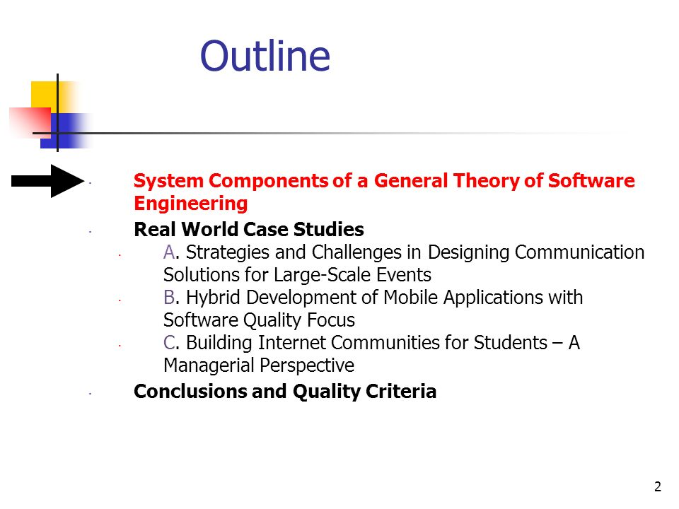 Dynamic Integration Of System Components Of A General Theory Of Software Engineering In Practice Case Studies From Three Application Domains Dr Anca Juliana Ppt Download