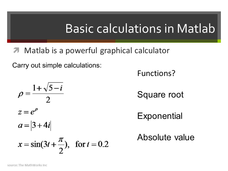 "What is Matlab?  ""MATLAB® is a high-level language and"
