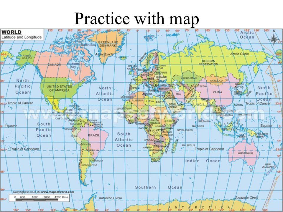 Equator 0 Latitude Prime Meridian Longitude
