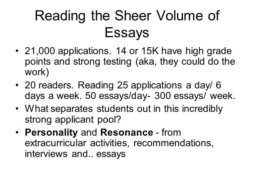personal statement college essay