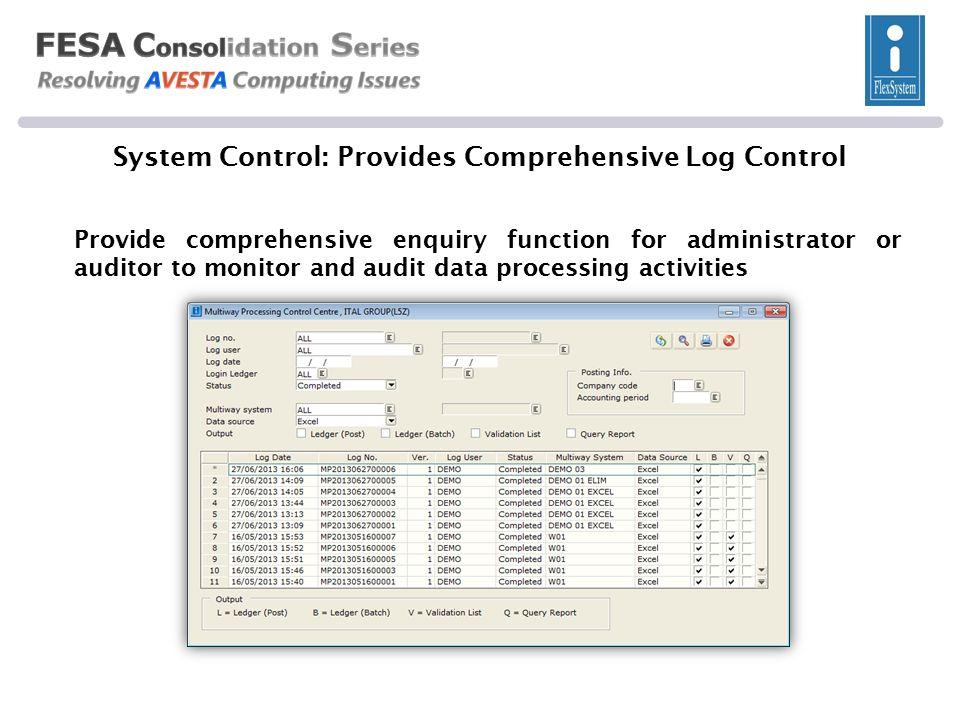 For Internal Management & Statutory Compliance FESA C onsol x Last