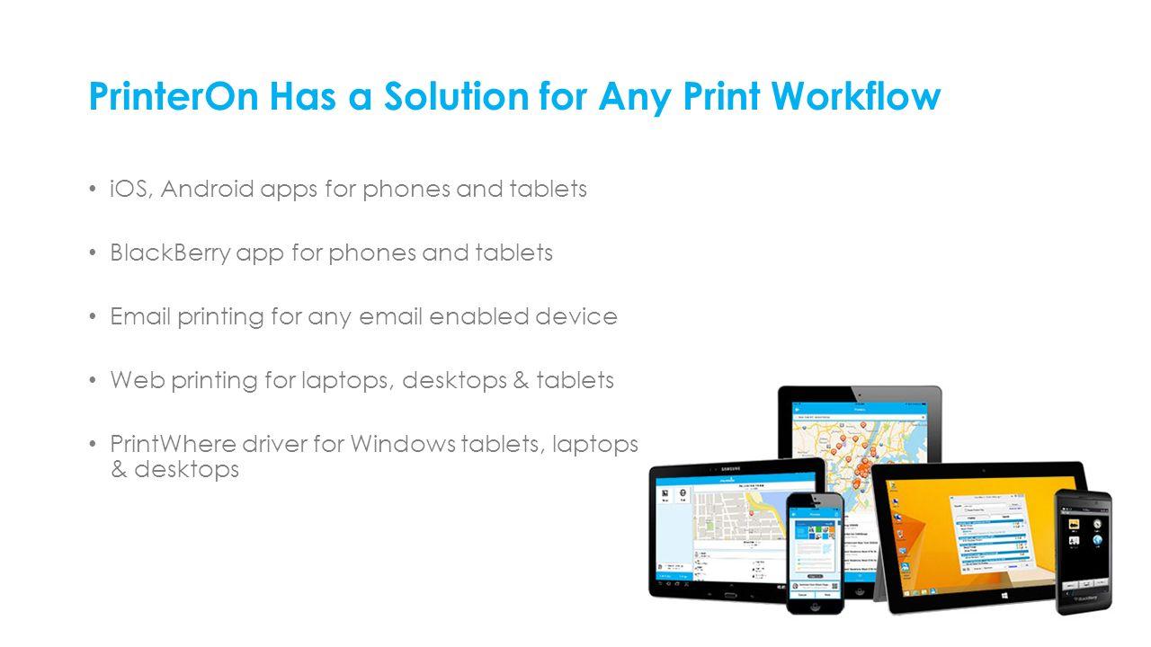 Enterprise | education | public printing locations PrinterOn Cloud
