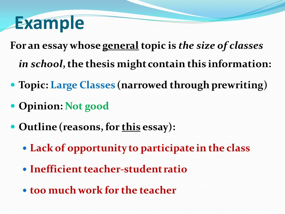 T C Norris March Definition A Thesis Statement Is A Onesentence   Example For An Essay