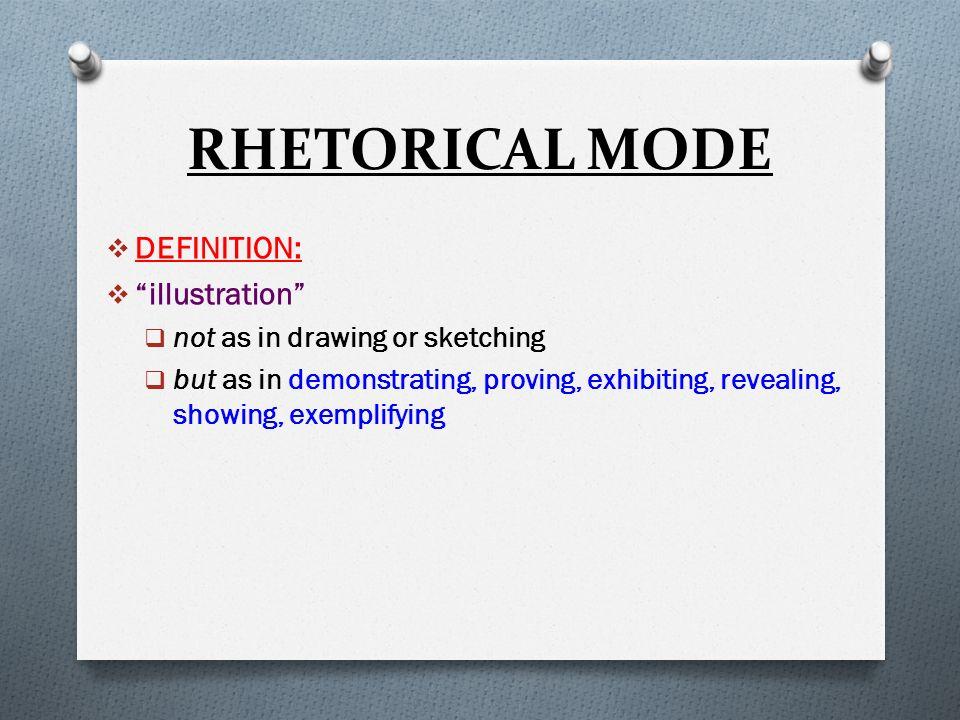 Illustration Aka Example Essay The Rhetorical Mode  Ppt Download  Illustration Essay  Illustrative Essay  Example  Rhetorical