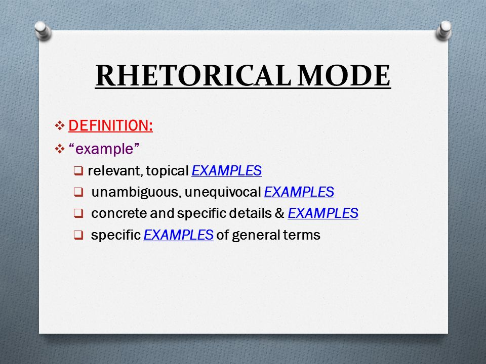 Student Life Essay In English  Rhetorical  In An Essay What Is A Thesis Statement also English Essay Samples Illustration Aka Example Essay The Rhetorical Mode  Ppt Download The Yellow Wallpaper Analysis Essay