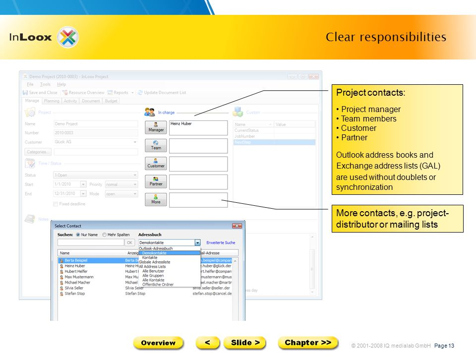 InLoox product presentation Project management software